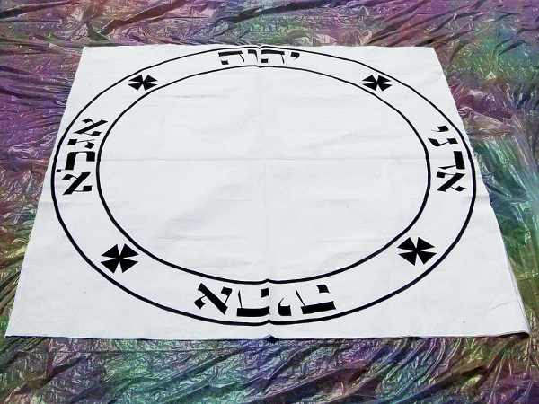 Hand Painted Magick Circle